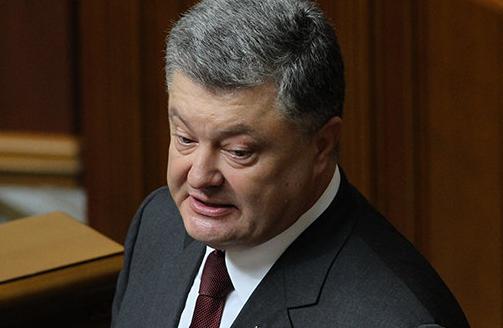 Порошенко выступил с хамским обращением к Путину и россиянам