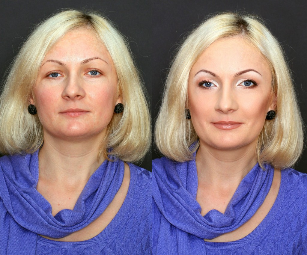 Макияж женщинам в 40 лет фото