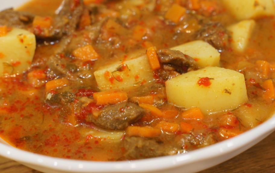 Рецепт из говядины с картошкой рецепт с фото пошагово в мультиварке