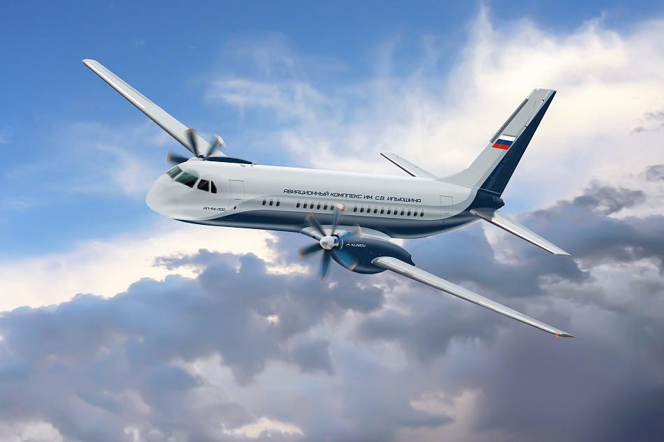 Иван Кабатов: Самолеты Ил-114-300 будут построены полностью из отечественных комплектующих