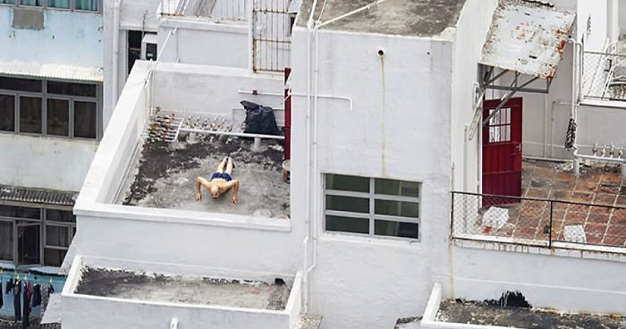Жизнь на крышах Гонконга