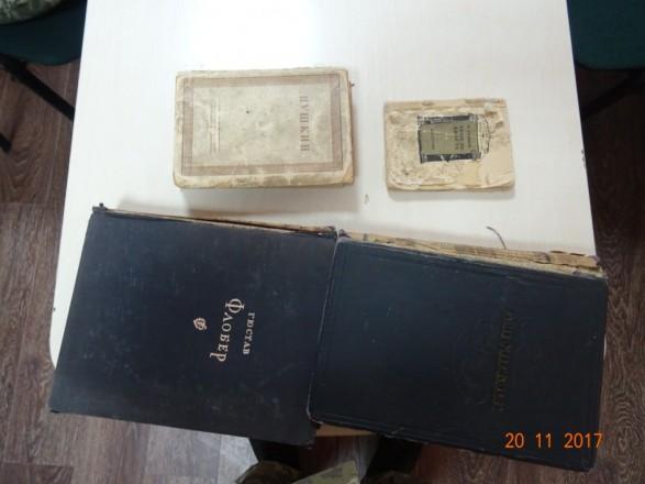 Галичанина задержали на польской границе с антикварными изданиями Пушкина, Диккенса и Флобера