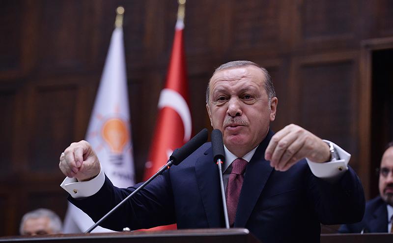 Эрдоган показал Америке золотую фигу