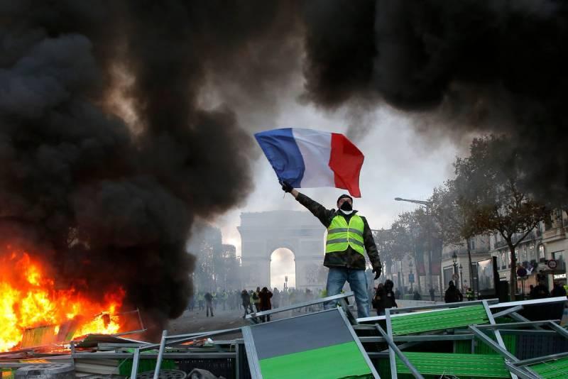 Обкатка политтехнологий во Франции. Встряхнись, благополучная Европа!