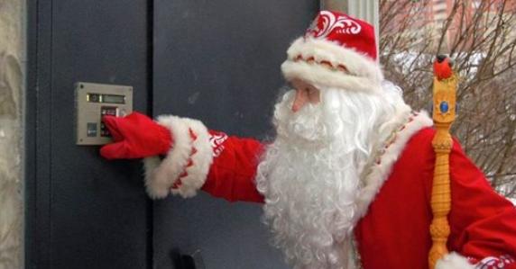 Как с Дедом Морозом случилос…