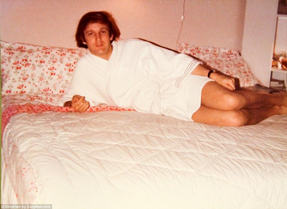 Найдены семейные  фото  молодого  Трампа , которые никогда не видели раньше