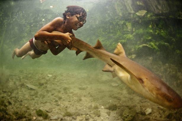 В Индонезии проживают люди, которые благодаря эволюции теперь обладают необычными способностями баджо, в мире, люди, племя, под водой, рыбы, способности, эволюция