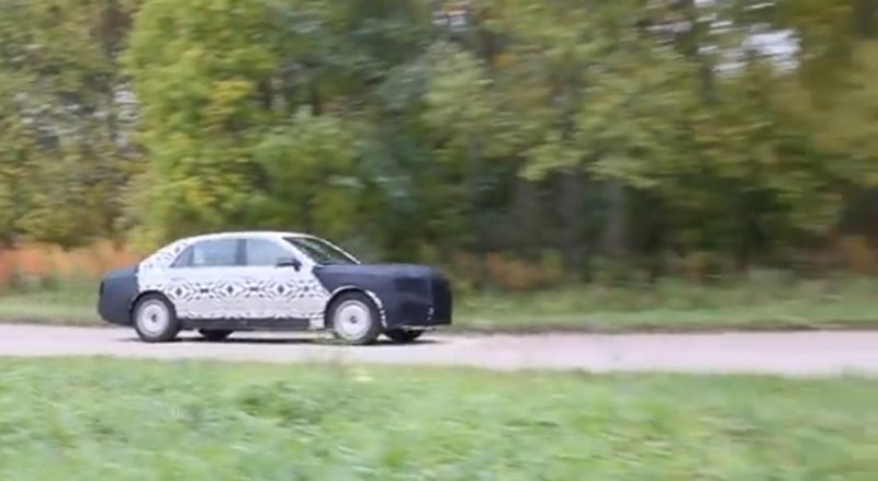 Рассекретили автомобиль, на котором Путин поедет на инаугурацию