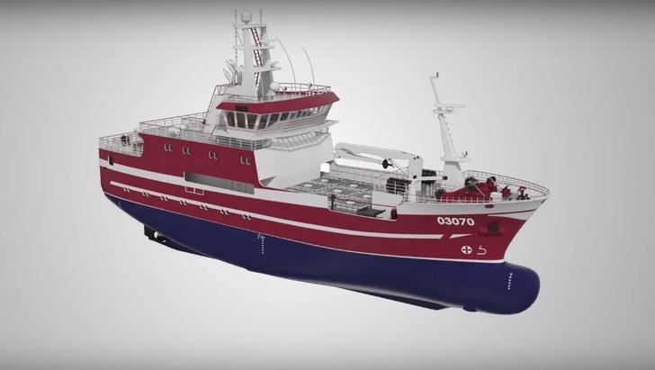 ЛСЗ «Пелла» заложил судно для ловли краба