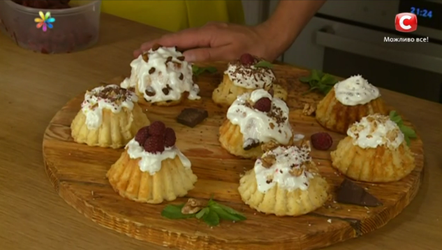 Вкусный десерт из цветной капусты от Евгения Клопотенко