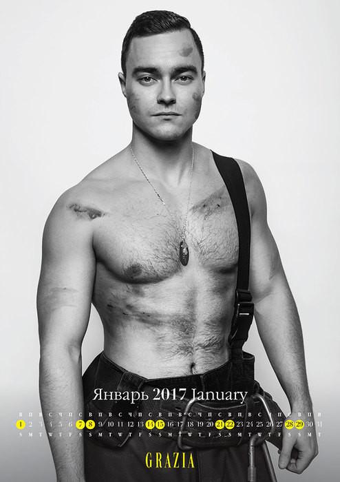 Самые сексуальные пожарные Москвы разделись для благотворительного календаря календарь, мужчины, пожарные