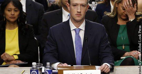 Цукерберг заявил о «гонке вооружений» между Facebook и Россией