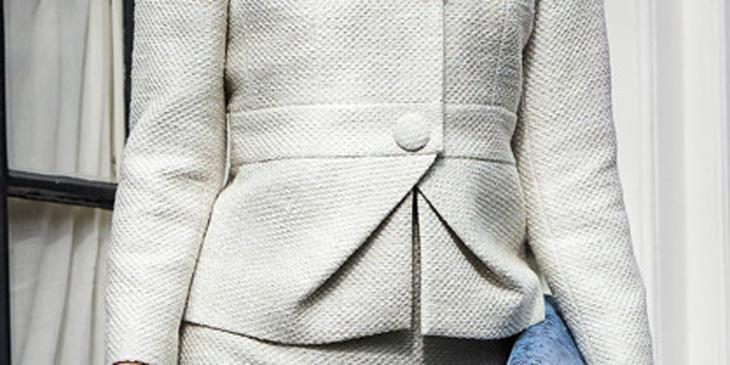 Снова в моде пуговицы, обтянутые тканью