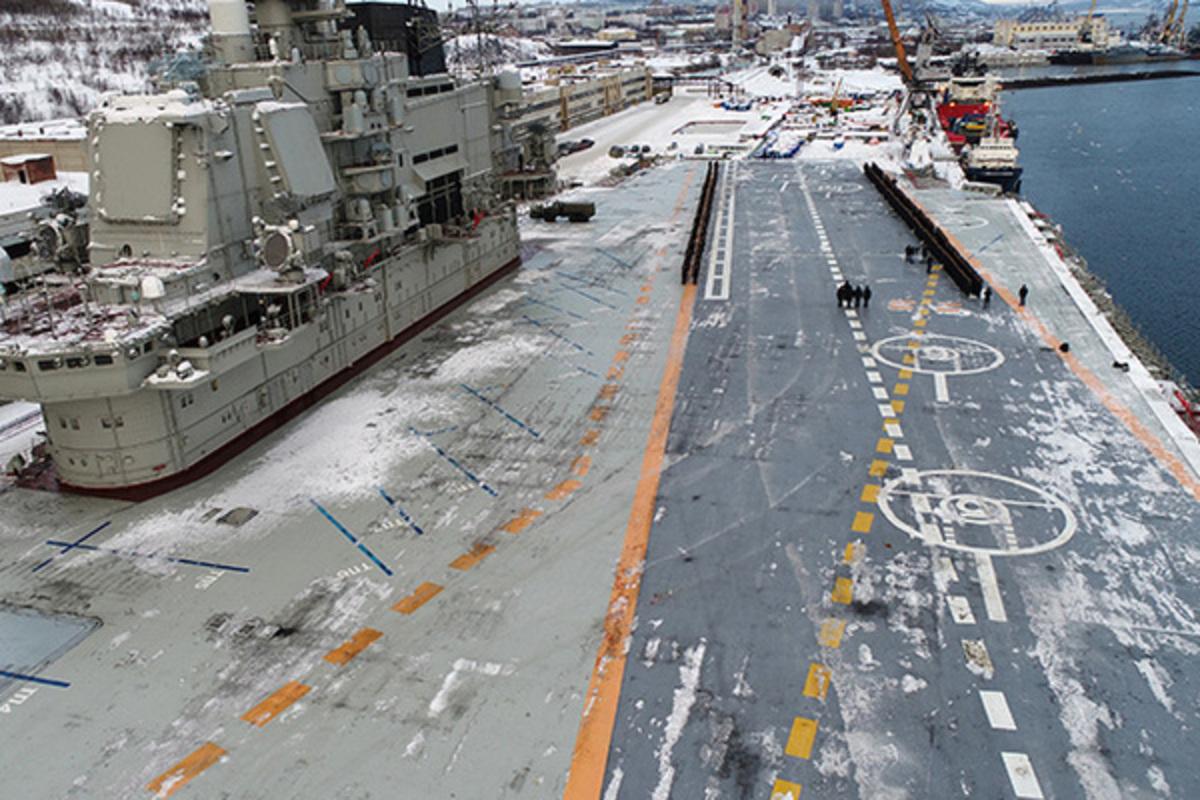 В США предрекли смерть морской авиации России
