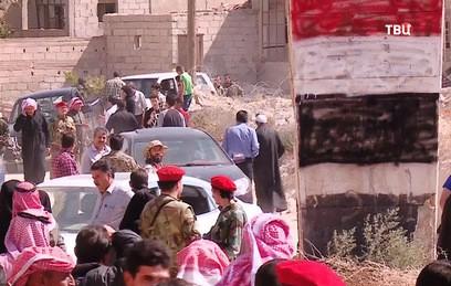Россия помогла вернуться домой еще одной группе сирийских беженцев