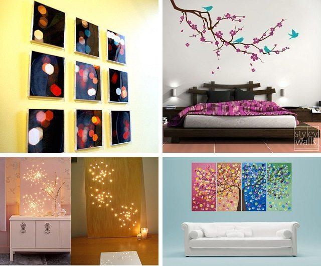 29 идей декора стен