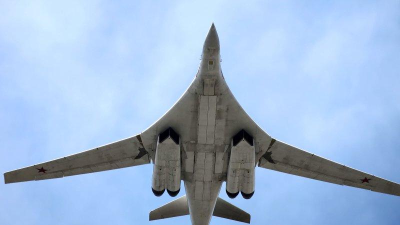 Ту-160 в Каракасе: пара «бел…