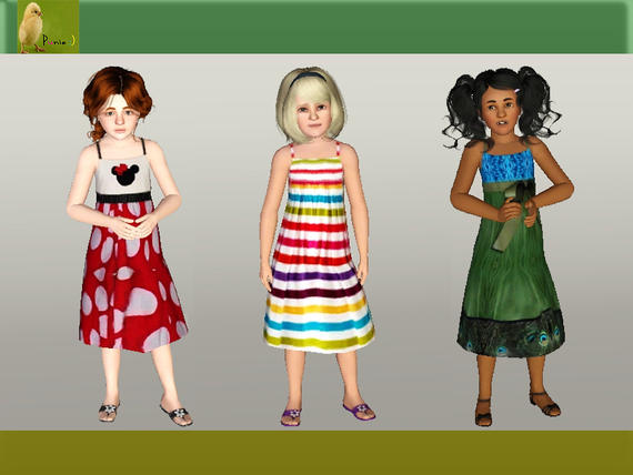 Платья для девочек от punie