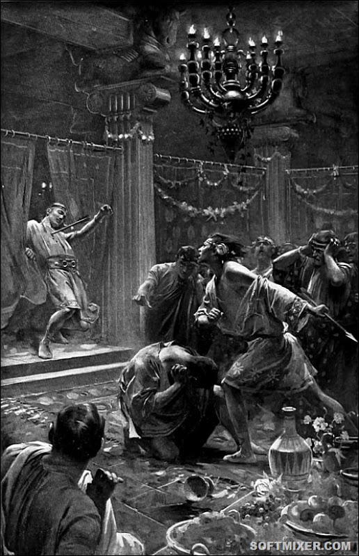 The_killing_of_Cleitus_by_Andre_Castaigne_(1898-1899)_reduced