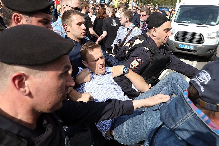 Навальный всё?