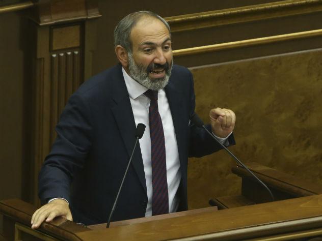В Армении спикер парламента покинул заседание после речи Пашиняна