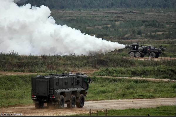 Машины ТМС-65 с реактивным двигателем от истребителя произвели впечатление на Пентагон