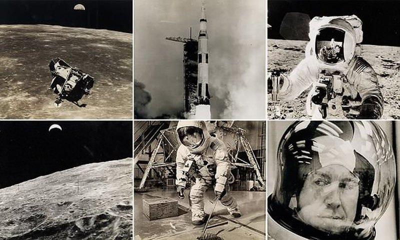 Золотой век космических исследований: на аукцион выставлен фотоархив NASA