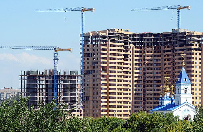 На одного ростовчанина строят в пять раз больше «квадратов», чем на одного москвича