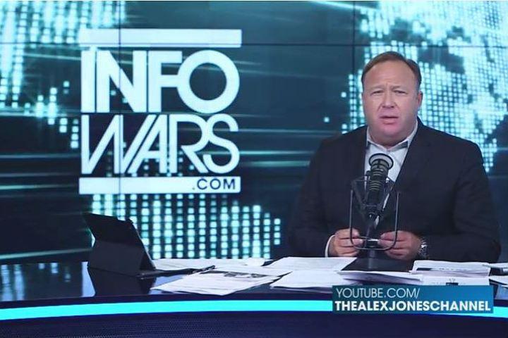 Алекс Джонс: «Дебилы из Конгресса! Острова не плавают, и вы не можете сбивать российские самолёты в Сирии»