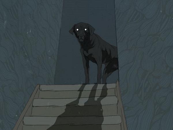 Призрачный пес под кроватью сильно напугал молодую пару