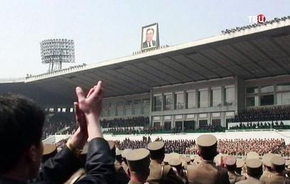 КНДР отмечает день рождения Ким Ир Сена