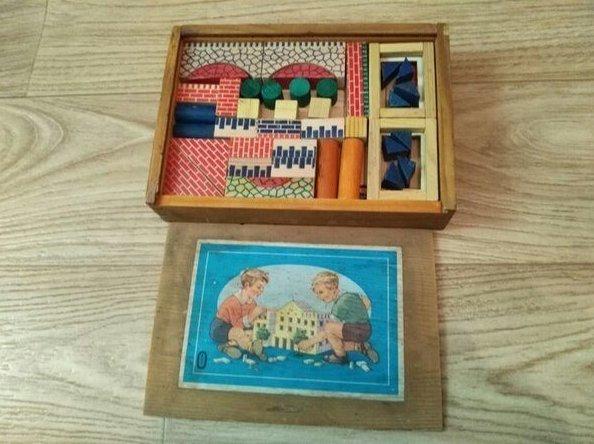 16. Сегодня деревянных конструкторов хоть отбавляй, но вспомните свой первый СССР, детские игрушки, игрушки, интересно, раритет, фото