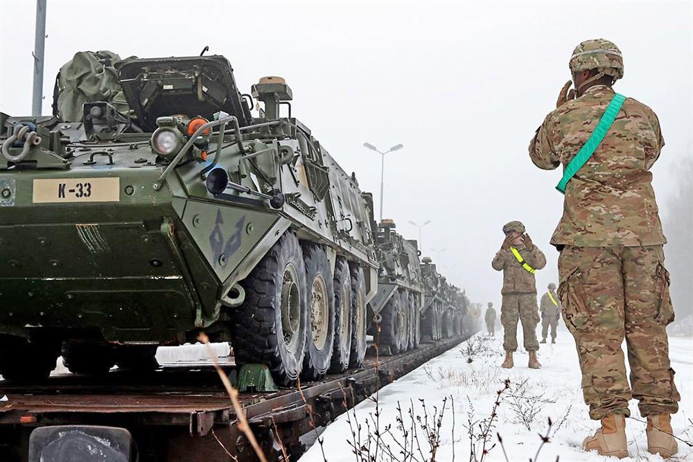 """В Польше американские войска встретили как защитников от """"российской агрессии"""""""