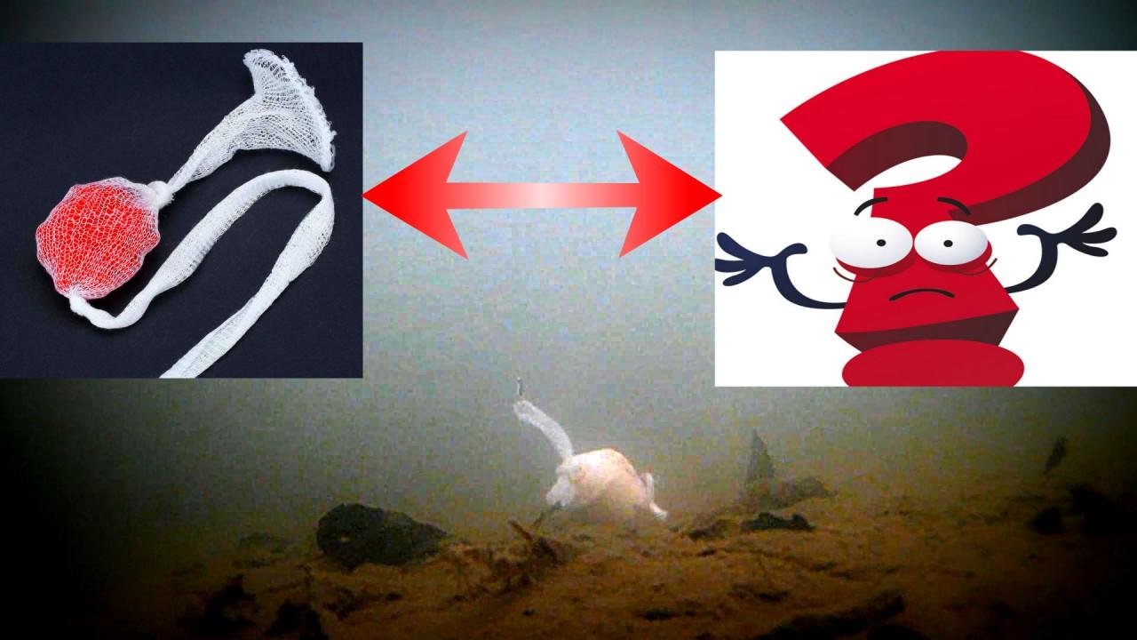 Проверил ПВА ПАКЕТ В ДЕЙСТВИИ! Что из этого получилось? Подводная съемка