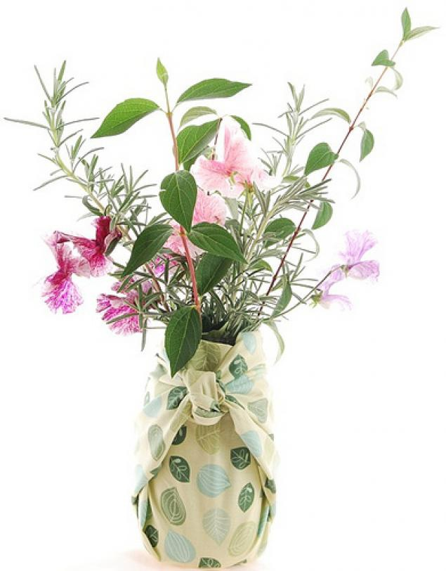 Фурошики ваза