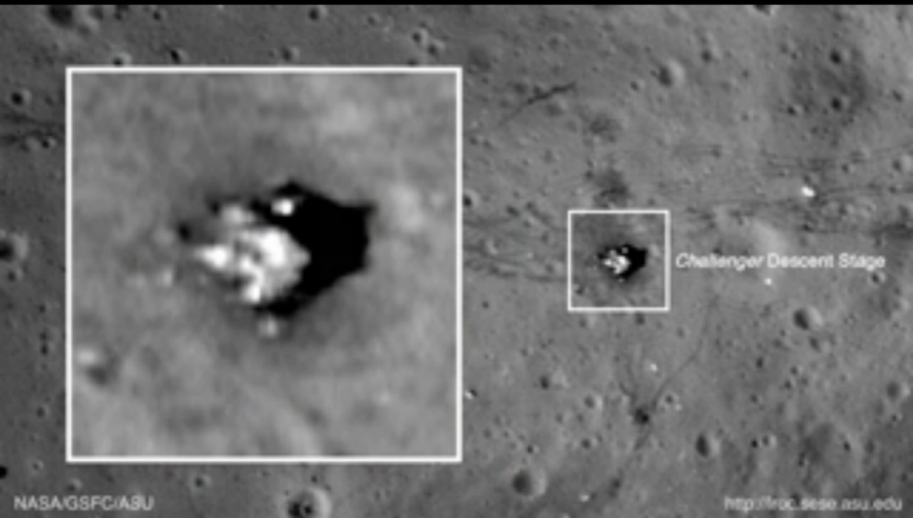 Свидетельство пребывания людей на Луне. Миссия Аполлон-17