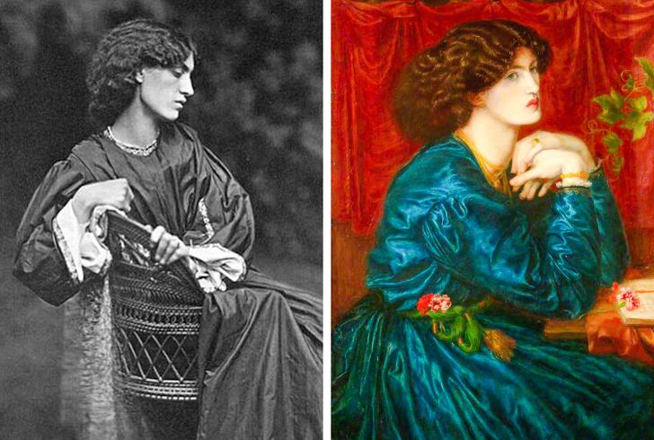 Как в реальноÑти выглÑдели 14 женщин Ñ Ð¿Ð¾Ð»Ð¾Ñ'ен великих художников