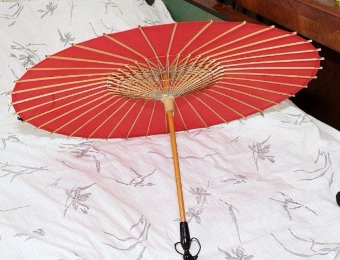 Китайский зонтик, 1949 год. /Фото: 22-91.ru