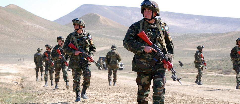 В ходе боя на границе Азерба…