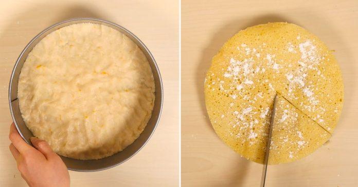 Используя только микроволновую печь, создайте этот вкусный лимонный торт в течение нескольких минут