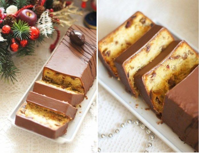 Ароматный рождественский кекс — безумно вкусно