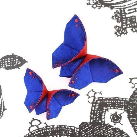 手工制作教程:蝴蝶装饰 - maomao - 我随心动