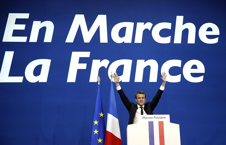 Стали известны результаты 1-го тура президентских выборов воФранции