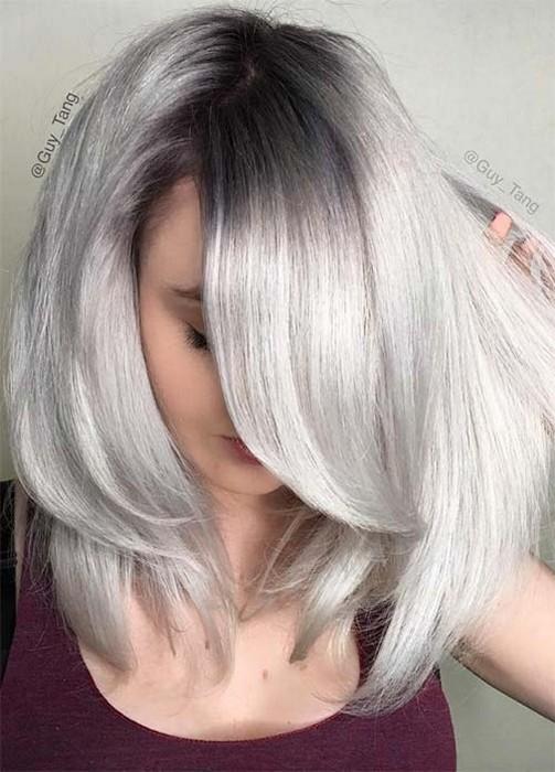 9 способов, как замаскировать отрастающие корни волос между покрасками