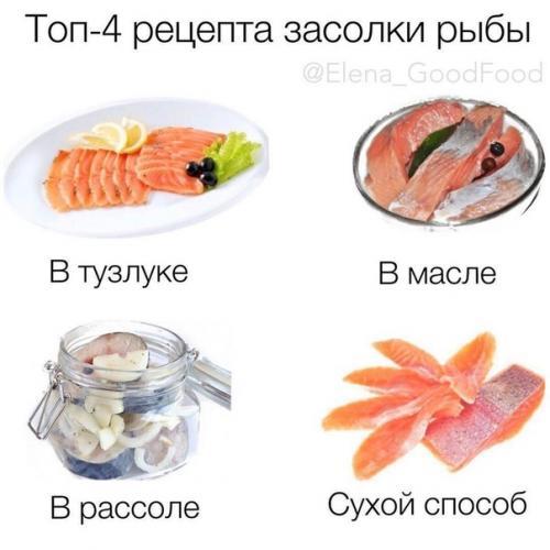 Мы солим рыбку: 4 лучших варианта!