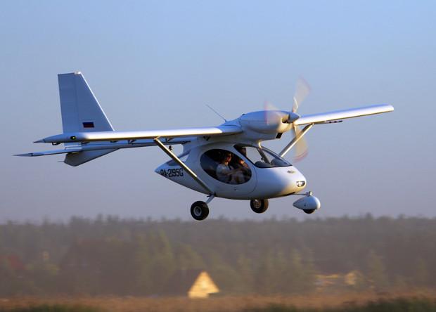 В России испытают легкий водородный самолет
