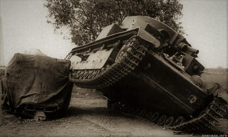 Судьба экипажа. День танкиста, Т-28, вов, история
