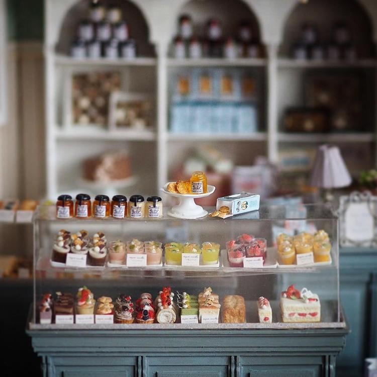 Интерьеры для кукольных домиков японской художницы Киёми