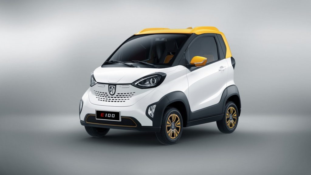 Baojun E100 — электрокар от GM, по цене мопеда