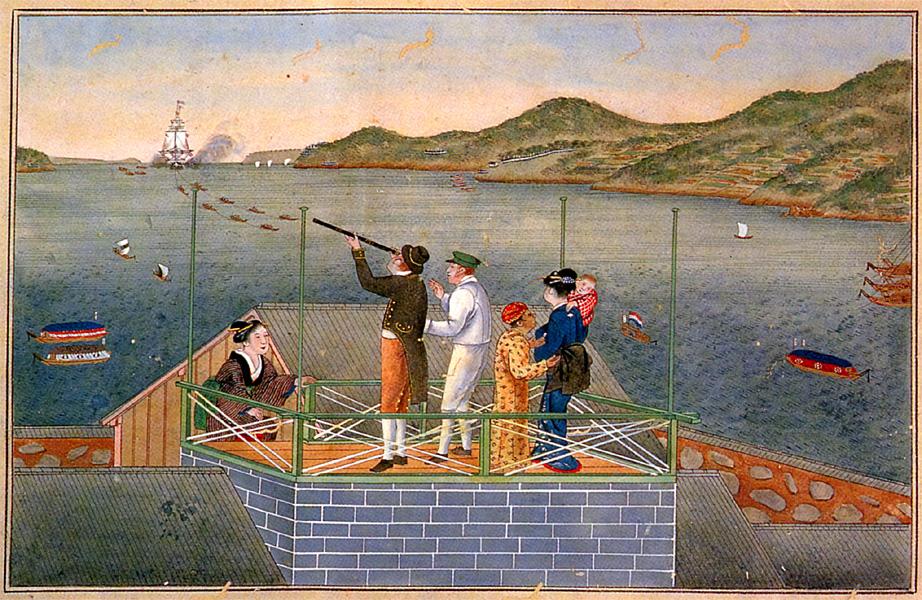 Изоляция страны и история одного острова